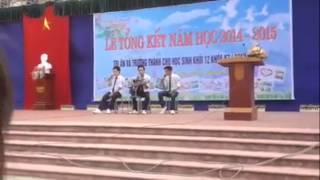 Em trong mắt tôi Guitar _beatbox :))) THPT Nguyễn siêu _khóa 97 -2015