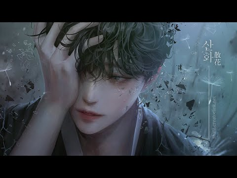""" 산화 散花 ""┃Photoshop Painting Process"