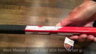 Inside The Collection   Mark Messier Game Used Stick