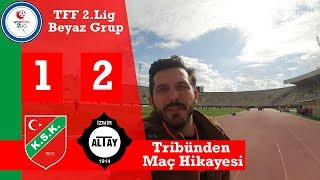 Karşıyaka Altay Derbisinde Foto Muhabiri Oldum Murat Uluç 39 la Röportaj Yaptım Lokma Kumru Yedim