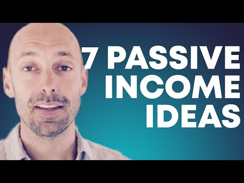 7 ways to make passive income online 2019
