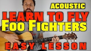 Foo Fighters Learn To Fly Acoustic Lesson