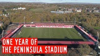 ONE YEAR AGO | Moor Lane became The Peninsula Stadium!