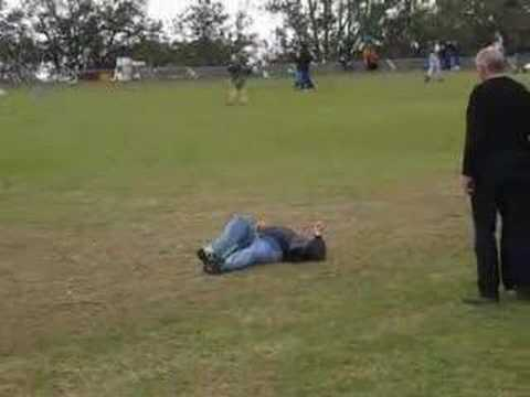 naked guys falling down