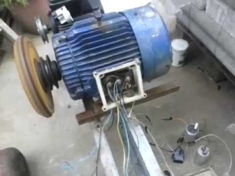 Single phase to three phase converter 230 to 380 volt for How to convert 3 phase motor to single phase