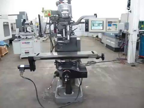 Bridgeport EZ-Trak DX 3-Axis CNC Knee Mill - YouTube