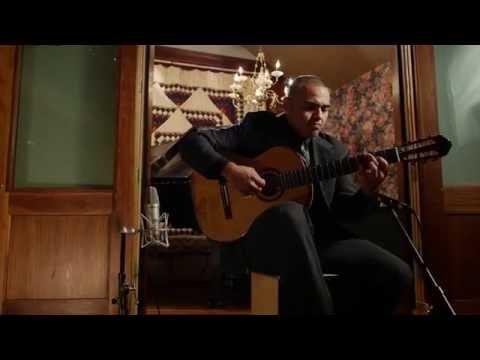 "Ortega Guitars Artist Javier Reyes performs ""El Jardin de Azalea"" on classical guitar"