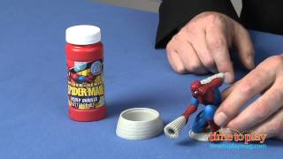 Spider-sense Spider-man Dip & Blow Bubbles From Imperial Toy