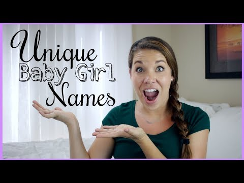 UNIQUE BABY GIRL NAMES!! | Rare & Unique Baby Names | Days of May