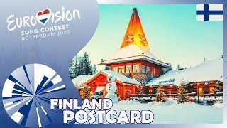 🇫🇮 POSTCARD – Finland – Aksel - Looking Back – Eurovision 2020