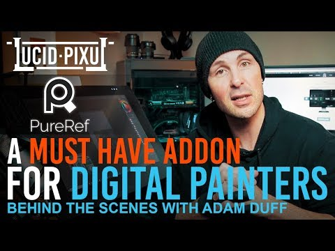 A MUST HAVE ADDON for Digital Painters (Pureref 2018) - BTS Episode 12