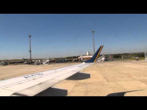 Safety demonstration on Azul flight from Campinas to Rio de Janeiro