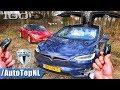 2019 Tesla Model S 100D vs Model X 100D REVIEW POV Test Drive on AUTOBAHN & ROAD by AutoTopNL