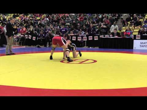 2015 CIS Championships: 55 kg Final Carlene Sluberski vs. Madison Parks