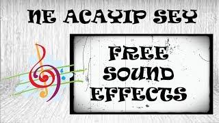 50 FREE SOUND EFFECT PACK YOUTUBER SES EFEKTLERİ