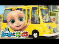 🚍 The Wheels On The Bus 🚌 Fun Songs for Children | LooLoo Kids