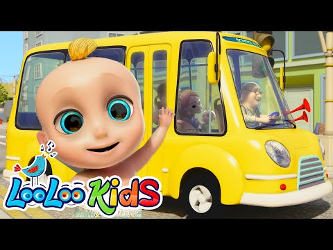 Thumbnail: The Wheels On The Bus - Fun Songs for Children | LooLoo Kids