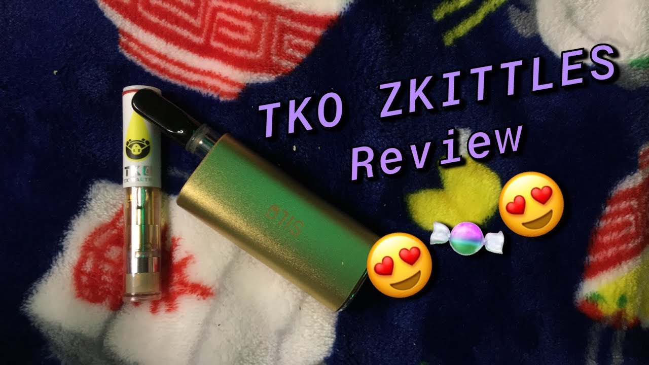 TKO Extracts Zkittles FAKE Cart Review