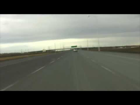 Stoney Trail Calgary Ring Road Time Lapse VERSION 2