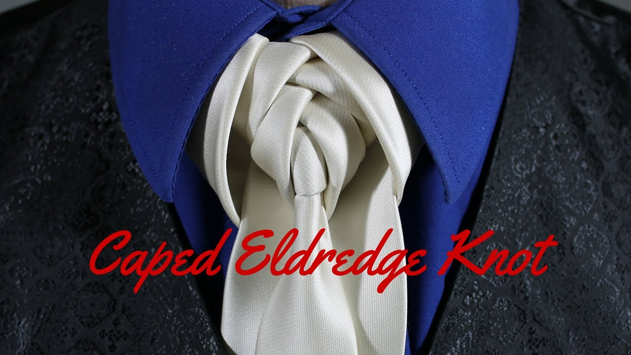 How to tie a tie caped eldredge knot youtube ccuart Image collections
