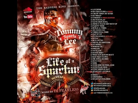 DJ FearLess - Tommy Lee Sparta - Life Of A Spartan Mixtape