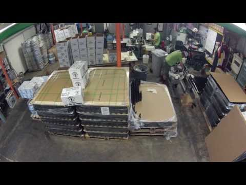 People's Brewing Company Bottle Run Time Lapse