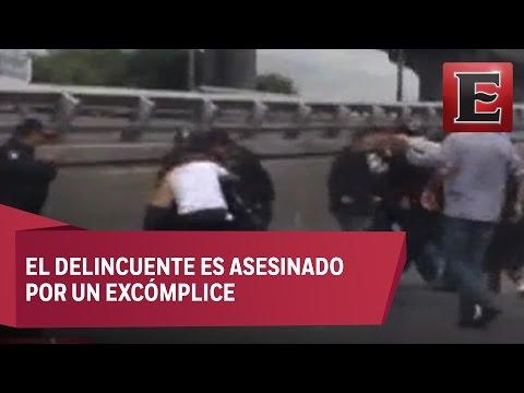 Matan a ladrón que había librado detención en Tacubaya