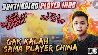 BUKTI KALAU PLAYER INDO GAK KALAH SAMA PLAYER CHINA !!! Ryan Prakasha PUBG MOBILE