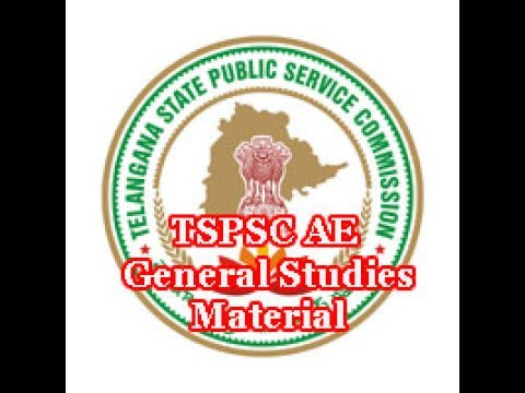 TSPSC GENERAL STUDIES AND GENERAL ABILITIES STUDY MATERIAL