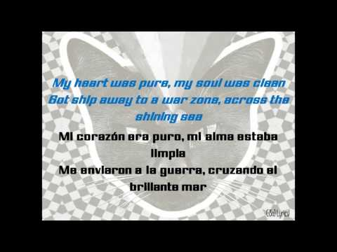 Never Shout Never - Peace's song (Lyrics english | Traducido al español).