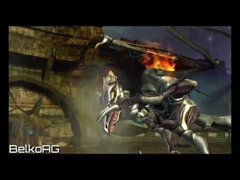 Metroid Prime Trilogy: Metroid Prime - Meta Ridley Boss Fight
