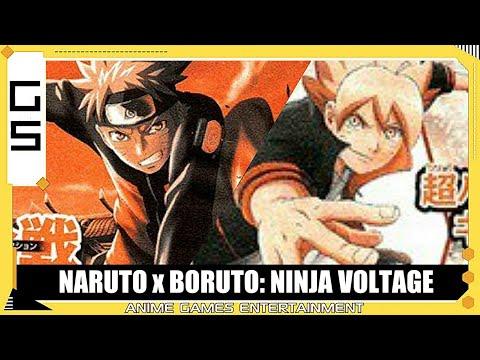 NARUTO x BORUTO Ninja Voltage Confirmed!.....as a Mobile Game
