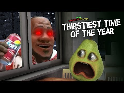 LeBron James Jumpscares Pear!!! (Thirstiest Time Of The Year)