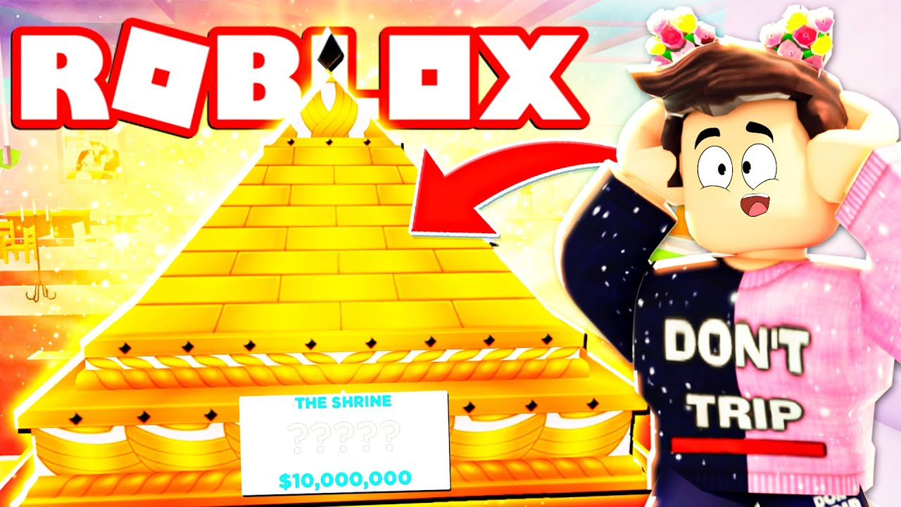 Buying the $10,000,000 Shrine in My Restaurant! (Roblox)