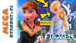 ŚPIEWAJĄCA ANNA I ELSA FROZEN 2 ❄️ zabawki z BIEDRONKI