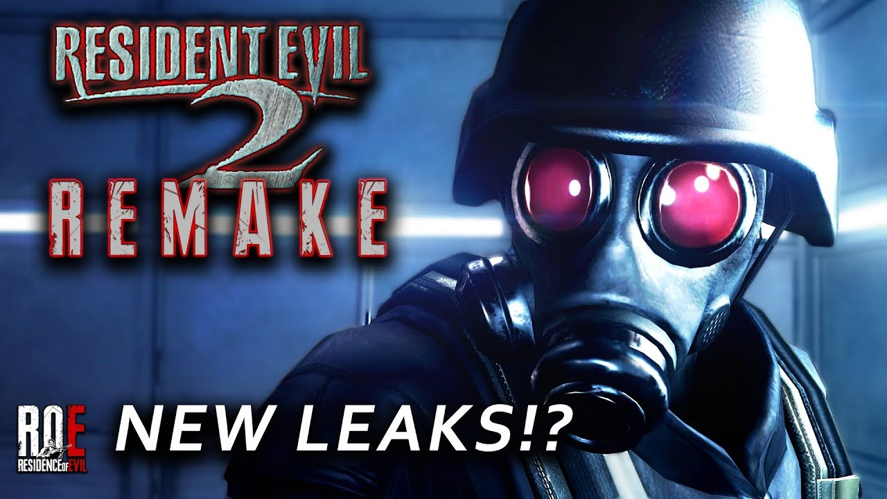 Resident Evil 2 Remake New Leaks No Hunk By Residence Of Evil