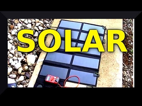 ALLPOWERS 60W Foldable Sunpower Solar Panel Charger with iSolar™ Technology for Laptop