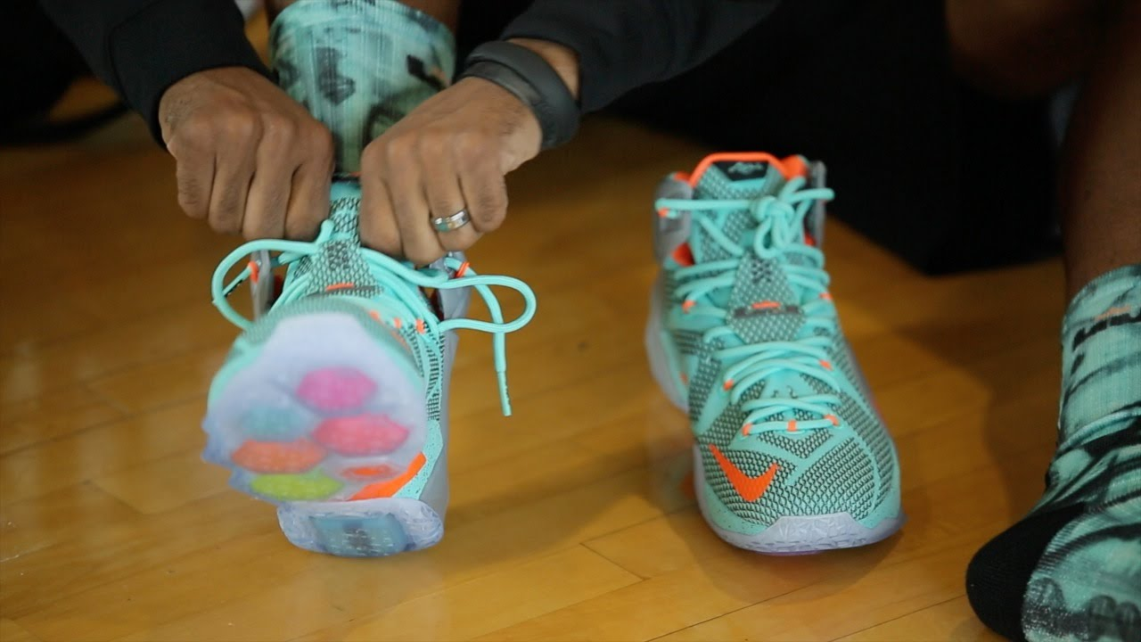 19b8ec3d6adc LeBron 12 Hands-On Wear Test Review - YouTube