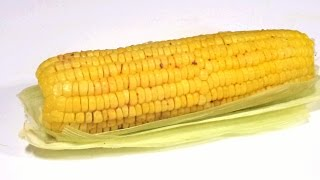 Easy Cook Microwave Corn On Cob In Indian Style FASTEST WAY/ INDIAN BHUTTA / Corn Hack /healthy snac