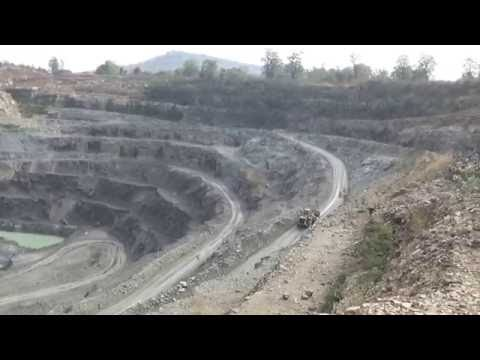 MINING OF KIMBERLITE PIPE AT PANNA, MADHYA PRADESH FOR DIAMONDS