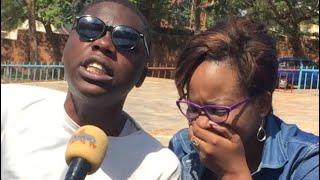 Byari amarira gusa Twahuje  Gahongayire na wa Mwana ufite ubumuga bwo Kutabona   Amwemereye Byose