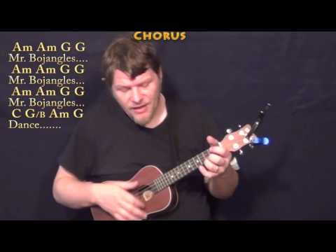 Mr Bojangles (Jerry Jeff Walker) Ukulele Cover Lesson in C with Chord/Lyrics