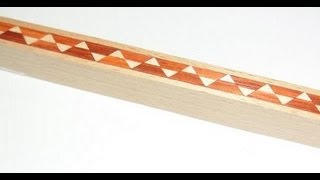 How To Make Triangular Pattern Inlay Banding By Ridgeway Woodcraft