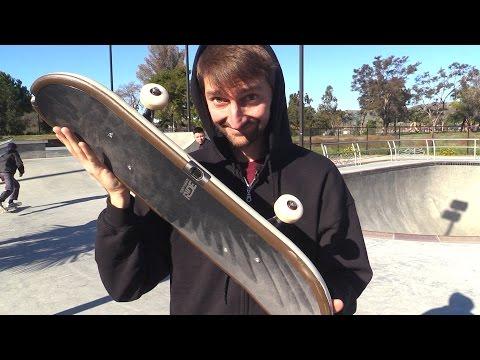 SKATEBOARDING ON A NINTENDO WII TONY HAWK RIDE BOARD | SKATE EVERYTHING EP 7