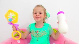 Çocuklar için Nastya ve dostluk hikayesi