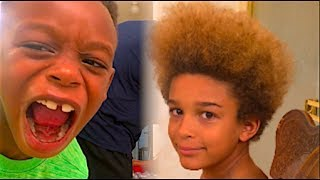 FROM AFRO to FLAT TOP!!! thumbnail
