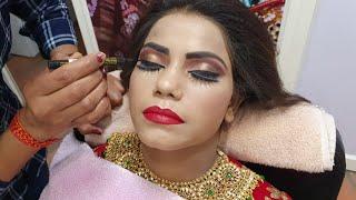 कैसे करें ब्राइडल मेकअप सांवली स्किन पर किन किन बातों का रखें ध्यान/real bridal makeup for dark skin