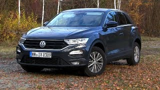 2019 VW T-Roc 1.6 TDI (115 HP) TEST DRIVE