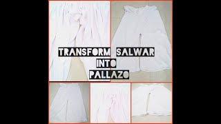 DIY: Pallazo From Salwar