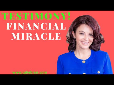 TESTIMONY Financial Miracle